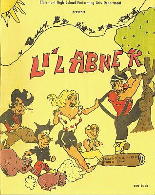 Li'l Abner Program Cover